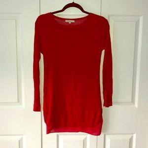 Joan Vass red tunic